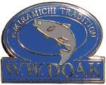 W. W. Doak Cloisonne Pin from W. W. Doak