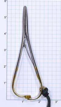 """Dr. Slick 5.5"""" Mitten Clamp with Forceps from W. W. Doak"""