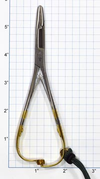 """Dr. Slick 5.5"""" Mitten Clamp with Scissors from W. W. Doak"""