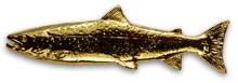Atlantic Salmon Pin from W. W. Doak