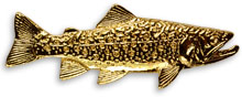 Brook Trout Pin from W. W. Doak