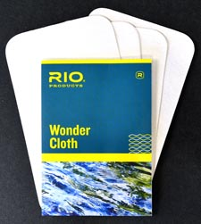 Rio Wonder Cloth<br>Line Cleaner from W. W. Doak