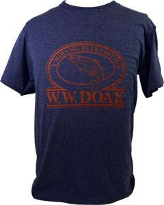 W. W. Doak Logo T-Shirt<br>Blue Heather from W. W. Doak