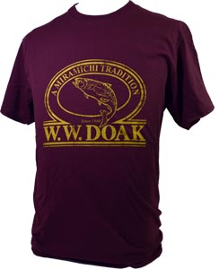 W. W. Doak Logo T-Shirt<br>Burgundy from W. W. Doak