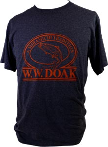 W. W. Doak Logo T-Shirt<br>Grey Heather from W. W. Doak