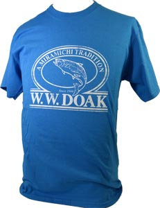 W. W. Doak Logo T-Shirt<br>Light Blue from W. W. Doak