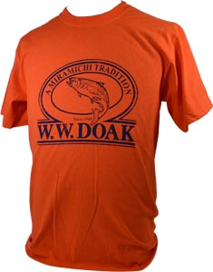 W. W. Doak Logo T-Shirt<br>Orange from W. W. Doak
