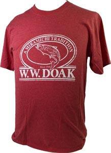 W. W. Doak Logo T-Shirt<br>Red Heather from W. W. Doak