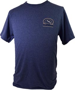 W. W. Doak Embroidered T-Shirt<br>Blue Heather from W. W. Doak