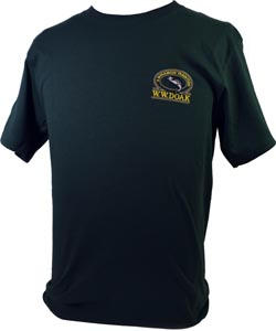 W. W. Doak Embroidered T-Shirt<br>Green from W. W. Doak
