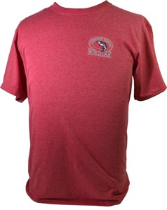W. W. Doak Embroidered T-Shirt<br>Red Heather from W. W. Doak
