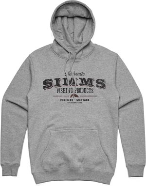 Simms Working Class Hoody from W. W. Doak