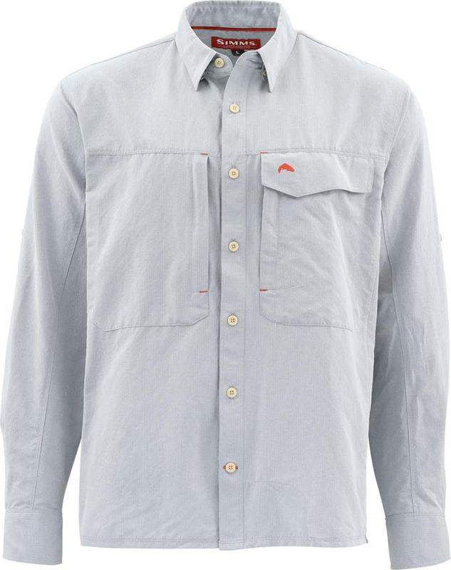 XXL Dark Khaki M XL SIMMS Intruder BiComp LS Shirt S