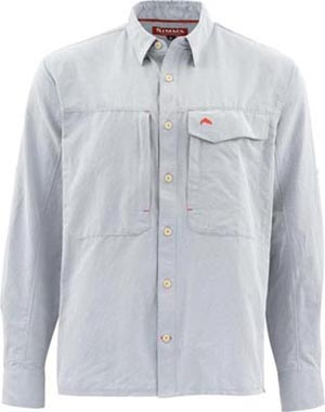 Simms Guide LS Shirt Marle from W. W. Doak