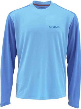 Simms SolarFlex Cool Crew<br>Long Sleeve Shirt from W. W. Doak
