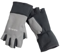 Simms Windstopper Half FInger Gloves from W. W. Doak