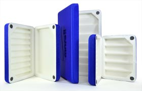 Morell Deluxe Fly Boxes - Blue from W. W. Doak