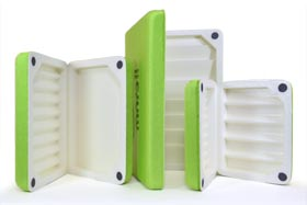 Morell Deluxe Fly Boxes - Green from W. W. Doak