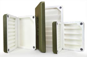 Morell Deluxe Fly Boxes - Olive from W. W. Doak