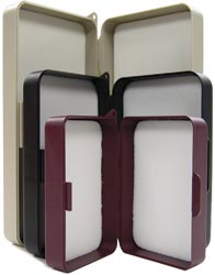 Flat & Flat Fly Boxes from W. W. Doak