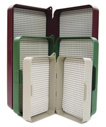 """Nubby Tak"" Fly Boxes from W. W. Doak"