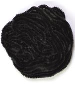 Danville Chenille<br>#100 - Black from W. W. Doak