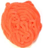 Danville Chenille<br>#503 - Fl. Orange from W. W. Doak