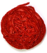 Danville Chenille<br>#56 - Red from W. W. Doak