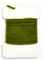 Medium Chenille<br><em>Caddis Green</em> from W. W. Doak