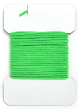 Standard Chenille<br><em>Fluorescent Green</em> from W. W. Doak