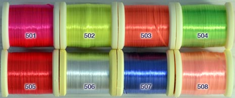 Danville Four Strand Fluorescent Nylon Floss from W. W. Doak