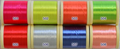 Danville One Strand Fluorescent Nylon Floss from W. W. Doak