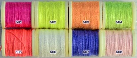 Danville Fluorescent Nylon Wool from W. W. Doak
