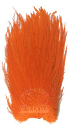 Metz Magnum Cock Saddle<br>Grade 1 - Dyed Orange from W. W. Doak