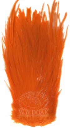 Metz Magnum Cock Saddle<br>Grade 2 - Dyed Orange from W. W. Doak