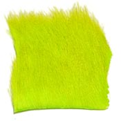 Calf Body Hair<br>Fluorescent Chartreuse from W. W. Doak