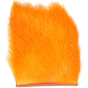 Calf Body Hair<br>Fluorescent Orange from W. W. Doak