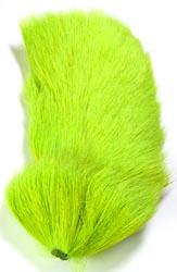 Deer Body Hair<br>Lime Green from W. W. Doak