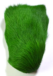 Deer Body Hair<br>Machine Green from W. W. Doak