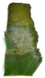 Deer Hair Strip<br>Green from W. W. Doak