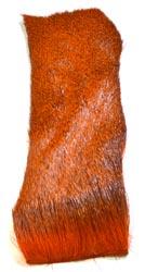 Deer Hair Strip<br>Orange from W. W. Doak