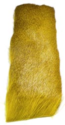 Deer Hair Strip<br>Yellow from W. W. Doak