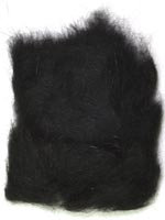 Rabbit Fur Dubbing<br>Black from W. W. Doak