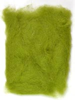 Rabbit Fur Dubbing<br>Caddis Green from W. W. Doak
