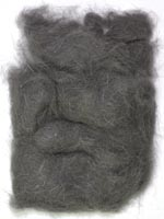 Rabbit Fur Dubbing<br>Dark Dun from W. W. Doak