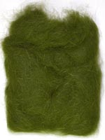 Rabbit Fur Dubbing<br>Dark Olive from W. W. Doak