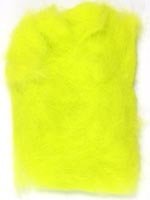 Rabbit Fur Dubbing<br>Fl. Lime Green from W. W. Doak