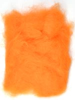 Rabbit Fur Dubbing<br>Fluorescent Orange from W. W. Doak