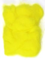 Rabbit Fur Dubbing<br>Fluorescent Yellow from W. W. Doak
