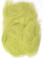 Rabbit Fur Dubbing<br>Light Olive from W. W. Doak